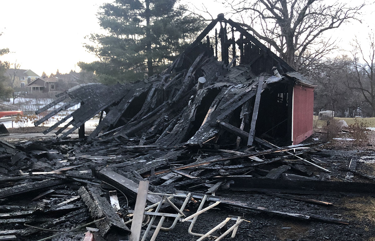 Lake Grace Pavilion Fire