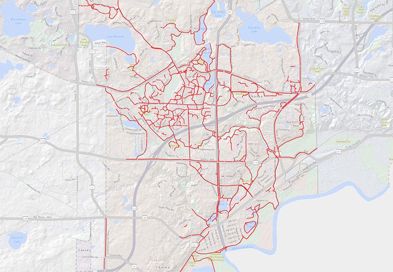 City of Chaska Interactive Trail Map